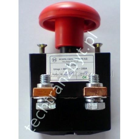 Wyłącznik bezpieczeństwa PA 250A