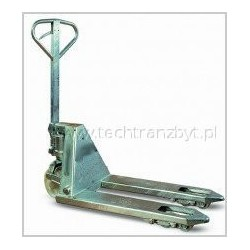 Wózek paletowy ocynkowany (galwanizowany) / dłg. wideł 800 PTP