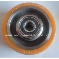 Koło podporowe 100x40 średnica trzpienia 15 mm (Vulkollan)