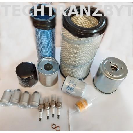 Filtry - zestawy przeglądowe Toyota 7FG