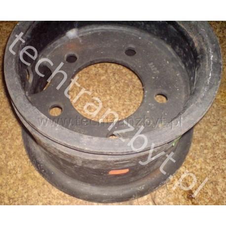 Felga na oponę 650x10 oznaczenie 500f-10 DV 1792 DV 1786 (tył) nr. kat. 2034.1.00.00