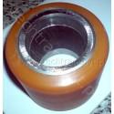 Rolka metalowa - poliuretanowa do wózka paletowego AC-25