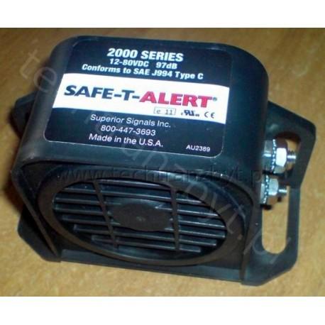 Sygnał dźwiękowy cofania do wózków widłowych 12-80 V